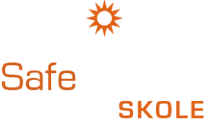 Safe Driving - hvit -