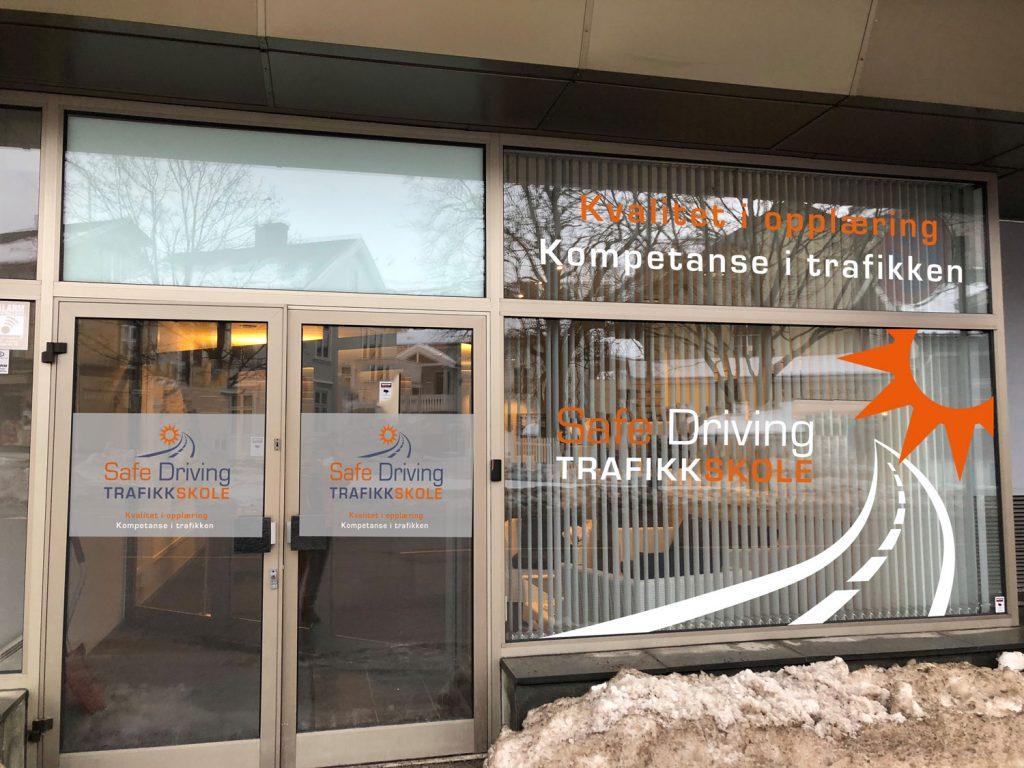 Safe Driving Trafikkskole - fasade