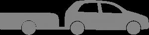 Personbil med henger (BE)